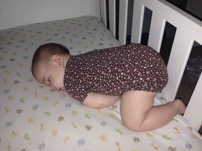 Lali asleepbrownoutfit