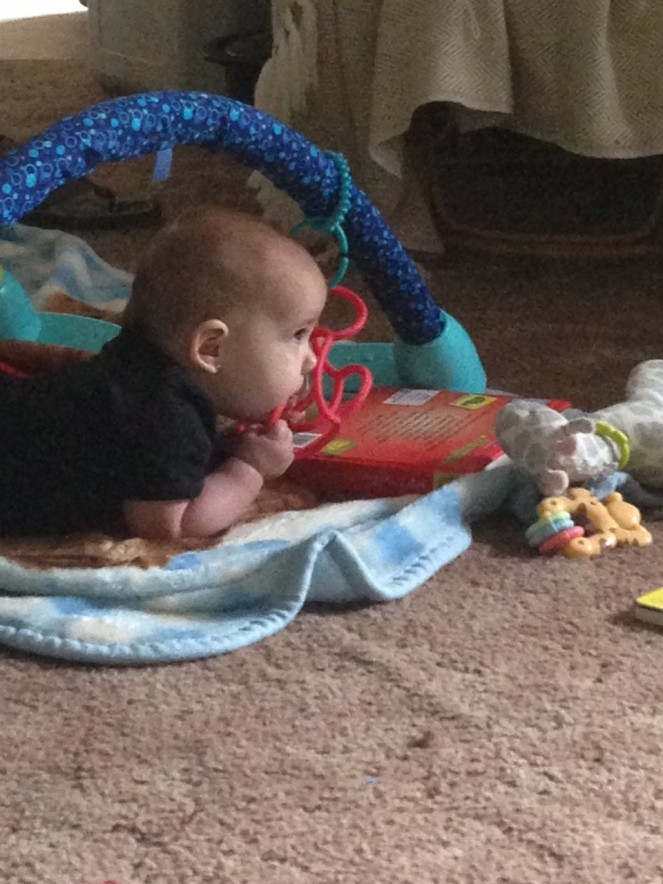 tummy time for lali